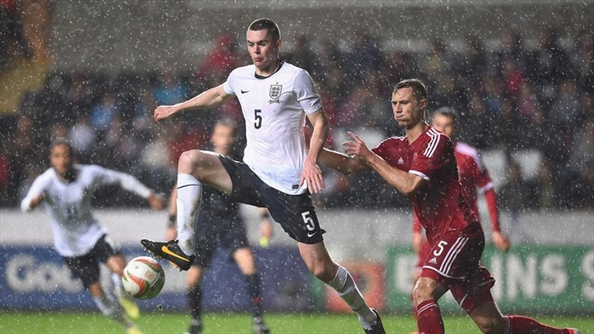 Michael Keane (England) & George Ray (Wales)