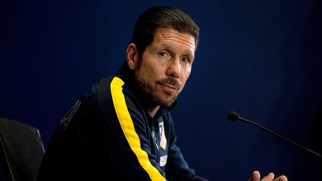 Simeone says midfield tussle will be key to success
