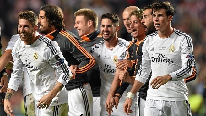 Real Madrid move top of UEFA coefficient rankings