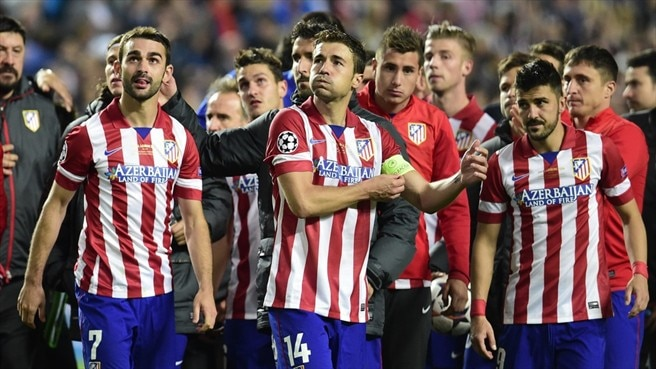 Atlético proud despite defeat