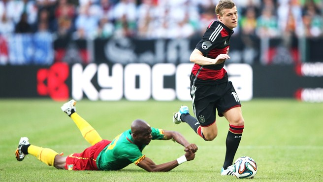 Germany comeback foiled by Cameroon