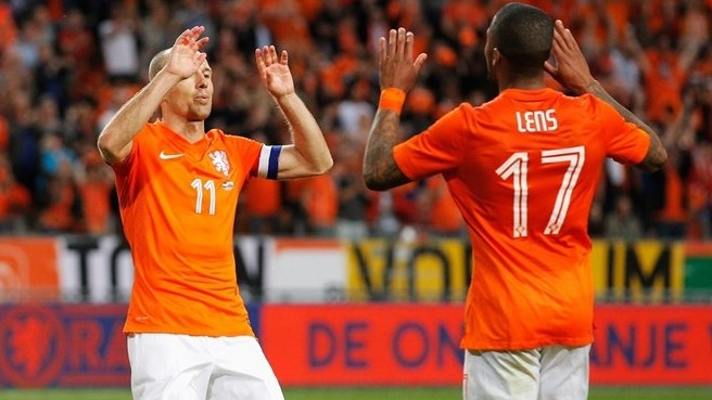 Netherlands say farewell with Wales win