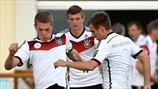 Matthias Ginter, Toni Kroos & Philipp Lahm (Germany)