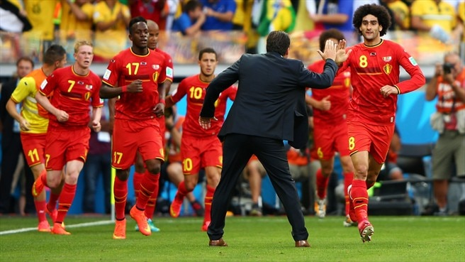 Substitutes get Belgium off to winning start