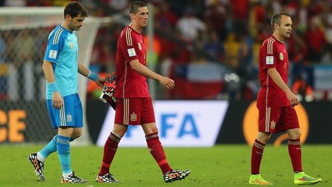 Chile loss condemns Spain to elimination