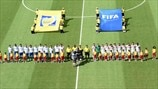 Italy and Costa Rica line up