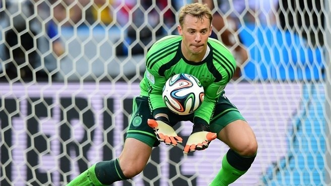 Neuer named Germany's player of the year