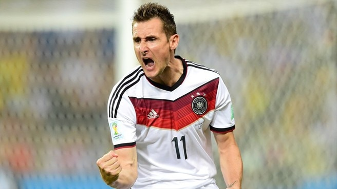 Klose equals record as Germany draw with Ghana