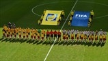 Australia and Spain line up
