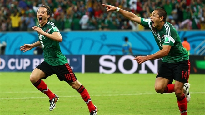 Clinical Mexico pick off flagging Croatia