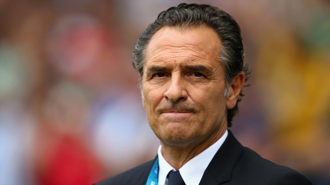 Italy coach Prandelli quits after World Cup exit
