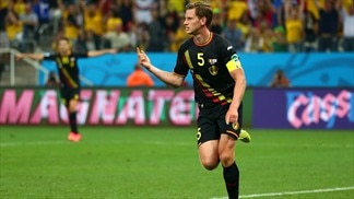 Vertonghen clinches perfect record for Belgium