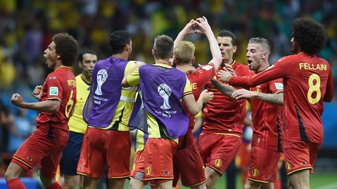 Belgium need extra time to oust United States