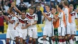 Germany team celebrate