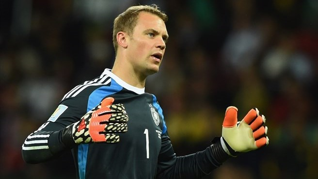All-action Neuer keeps Germany ticking