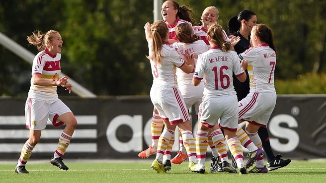 Scotland off the mark with victory over Belgium