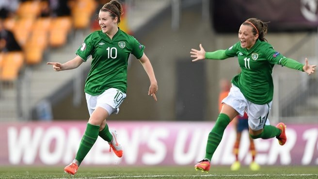 Ireland shine in debut defeat of Spain