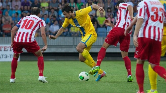 Honours even as Skënderbeu hold on against BATE