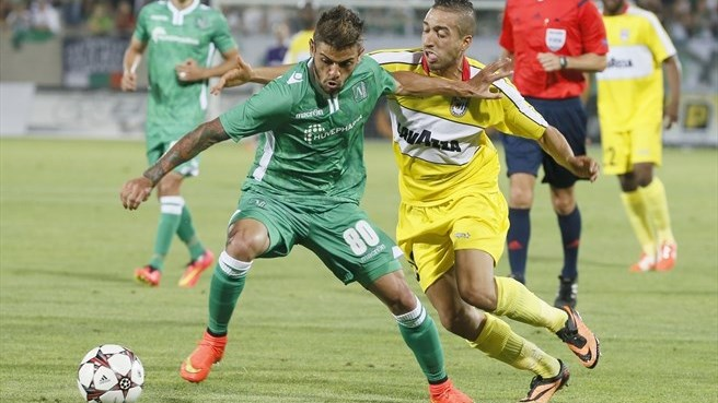 Ludogorets prove too much for Dudelange