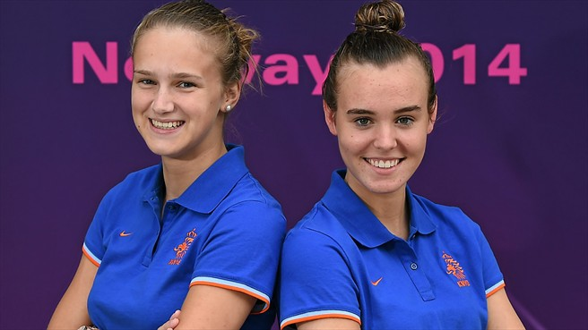 Miedema and Roord set sights on Dutch success