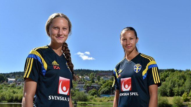 Double vision for Sweden's Karlsson twins