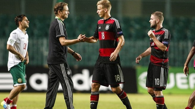 Sorg satisfied by on-song Germany
