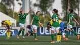 Chloe Mustaki, Savannah McCarthy, Clare Shine & Katie McCabe (Republic of Ireland)