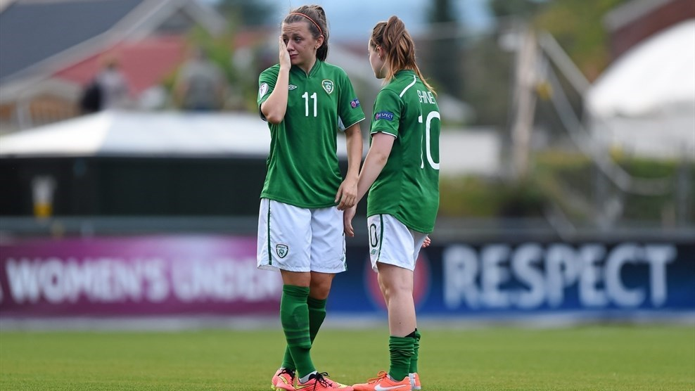 Katie McCabe & Clare Shine (Republic of Ireland)