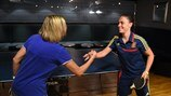 Watch Spain v Netherlands at table tennis
