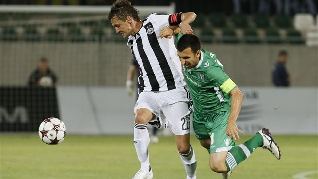 Ludogorets fail to breach Partizan