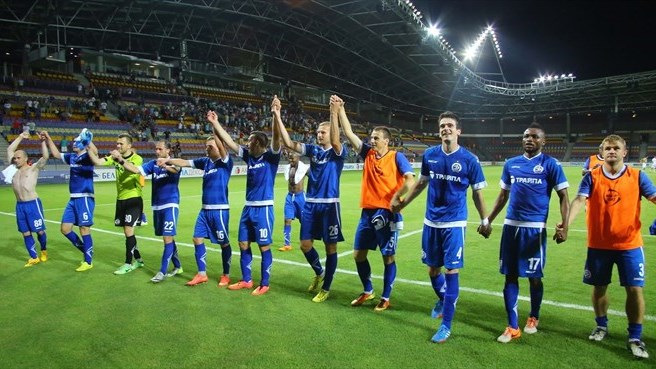 Bar raised for on-song Dinamo Minsk