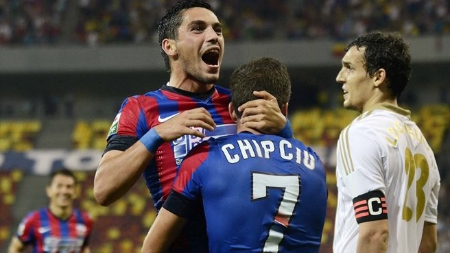 Steaua too strong for Aktobe