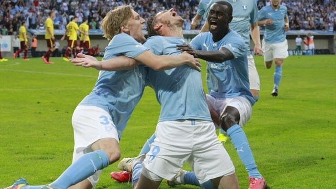 Rosenberg inspires Malmö to Sparta success