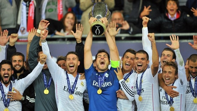 Ronaldo fires Madrid to Super Cup glory
