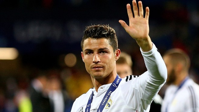 Ronaldo delight at Super Cup supershow