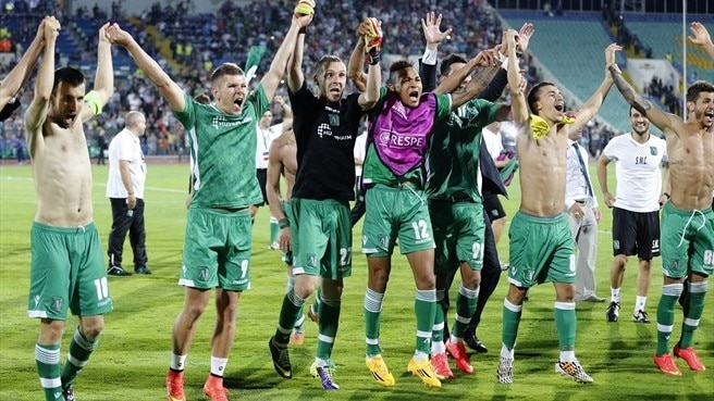 Joy for Ludogorets after Moţi heroics