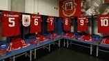 Gibraltar dressing room