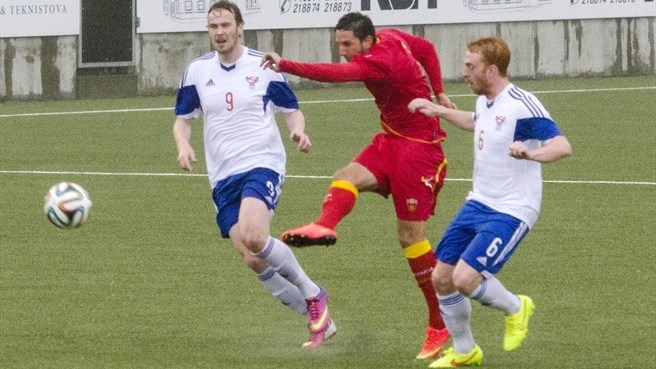 Faroe Islands end winless run to deny Montenegro