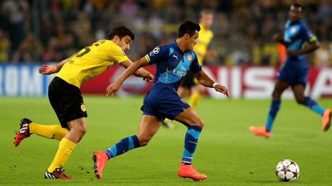 Formidable Dortmund too strong for Arsenal