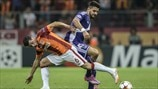 Galatasaray 1-1 Anderlecht: the story in photos