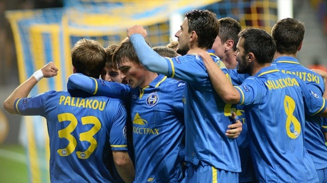 First-half strikes help BATE best Athletic