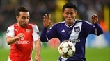 Anderlecht 1-2 Arsenal: the story in photos