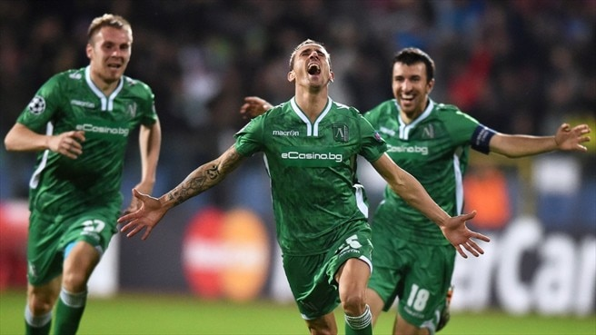 Ludogorets late show downs ten-man Basel