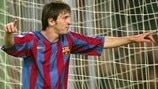 Lionel Messi's landmark Champions League goals