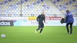 Maribor's Bohar on forward runs