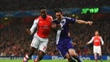Arsenal 3-3 Anderlecht: the story in photos