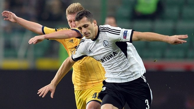 Duda downs Metalist late for Legia