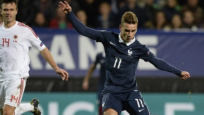 Griezmann earns France draw with Albania