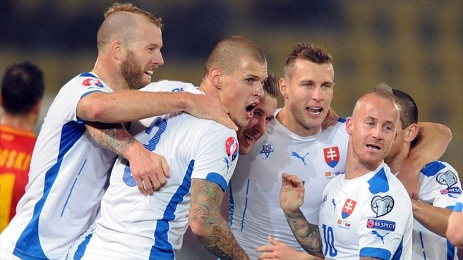 Video: Slovakia vs FYR Macedonia