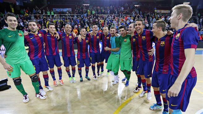 Barcelona book place at Futsal Cup finals
